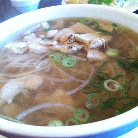 Chicken Pho @ saigon taste