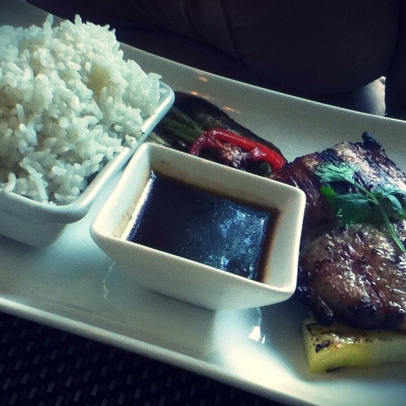 Pork Sirloin Set @ Cebu City Marriott Hotel