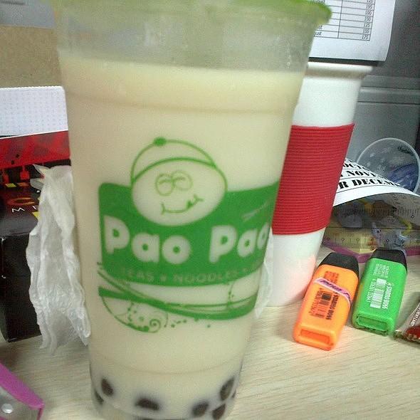 Winter Melon Pearl Milk Tea @ Pao Pao Xiao Chi