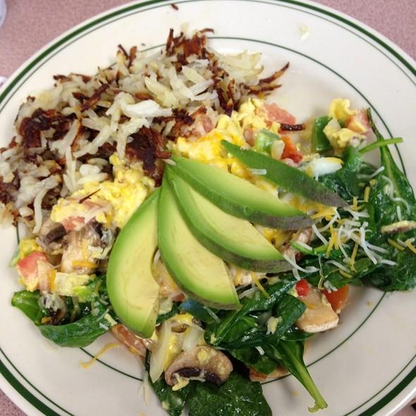Vegetarian Scramble @ Carol's Restaurant