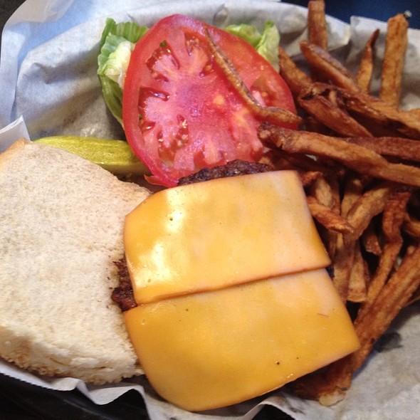 The Cowboy Burger @ Ozona Pig The
