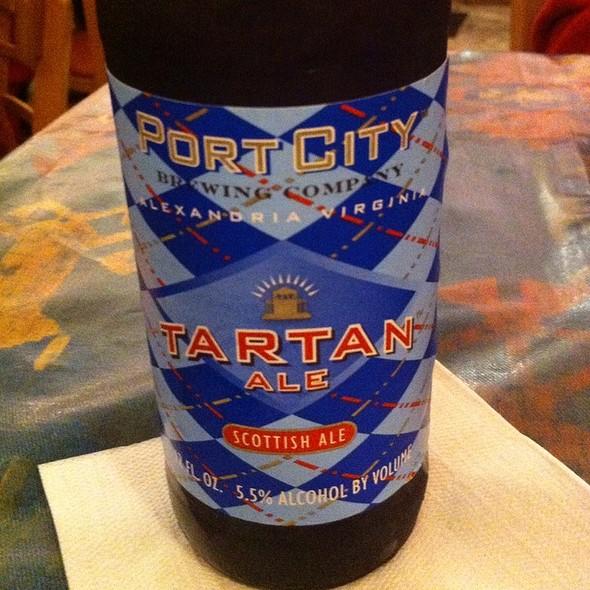 Port City Tartan Ale @ Taqueria Poblano