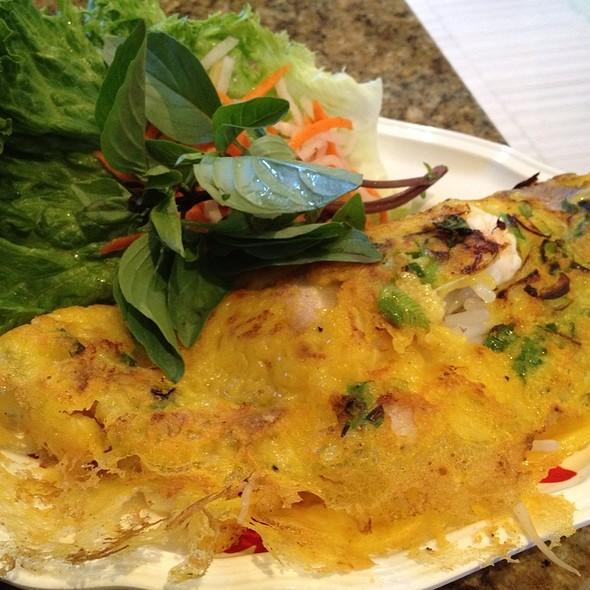 Vietnamese Pancake @ Rua Vang Golden Turtle Restaurant