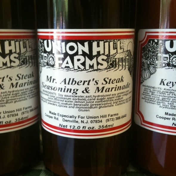 Local Steak Seasoning & Marinade @ Union Hill Farms