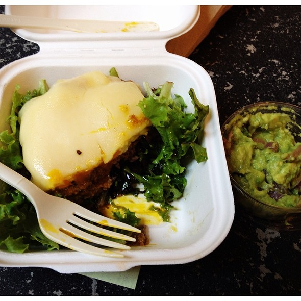 Green Goddess Burger @ Prather Ranch Meat