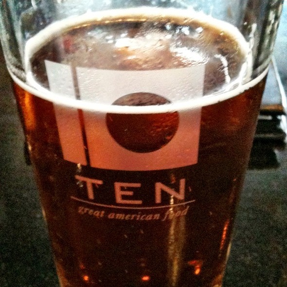 Free State Copperhead Pale Ale - TEN at the Eldridge, Lawrence, KS