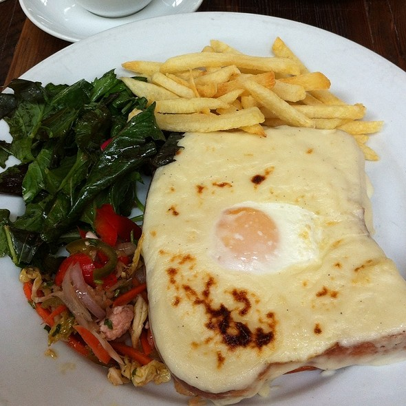 Croque Madame @ Foreign Cinema
