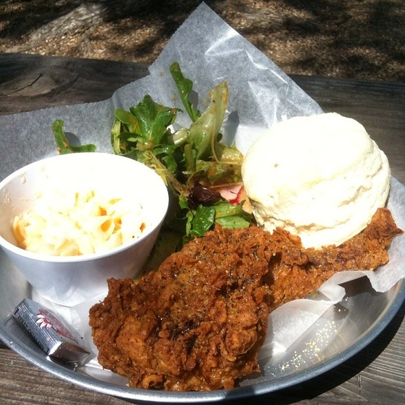 Skillet Fried Chicken Combo @ Chicken Scratch