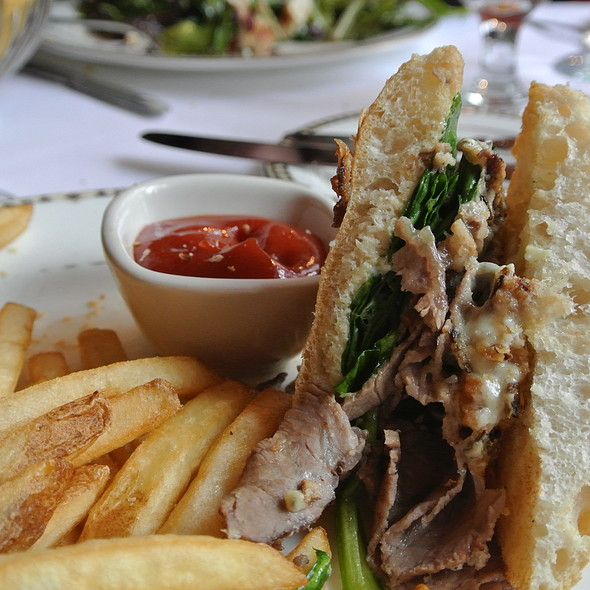 Shaved Prime rib sandwich - Washington Crossing Inn, Washington Crossing, PA
