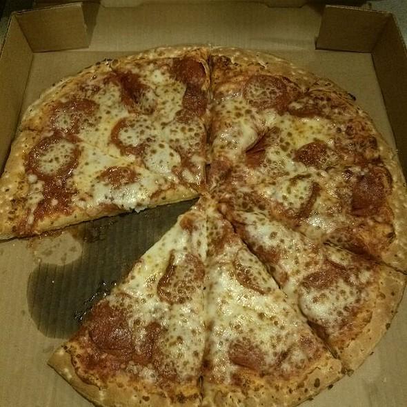Pepperoni Pizza @ Mj's Pizza