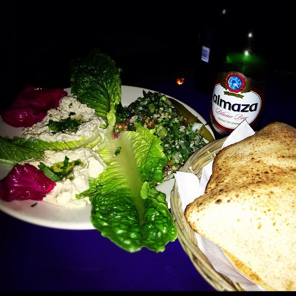 Salad Trio @ Byblos Mediterranean Lebanese Restaurant and Hookah Lounge