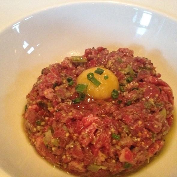Steak Tartare With Quail Egg @ Apex, Montage, Deer Valley