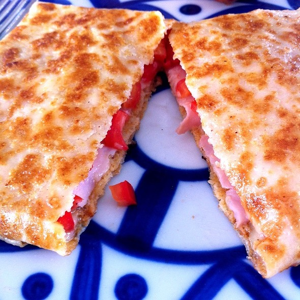 Ham , Cheese And Tomato  @ Cafe Breton