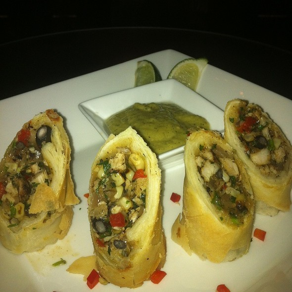 Caribbean Rolls - The Society Restaurant & Lounge, Silver Spring, MD