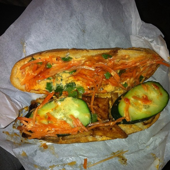 Vegan Banh Mi @ Me So Hungry