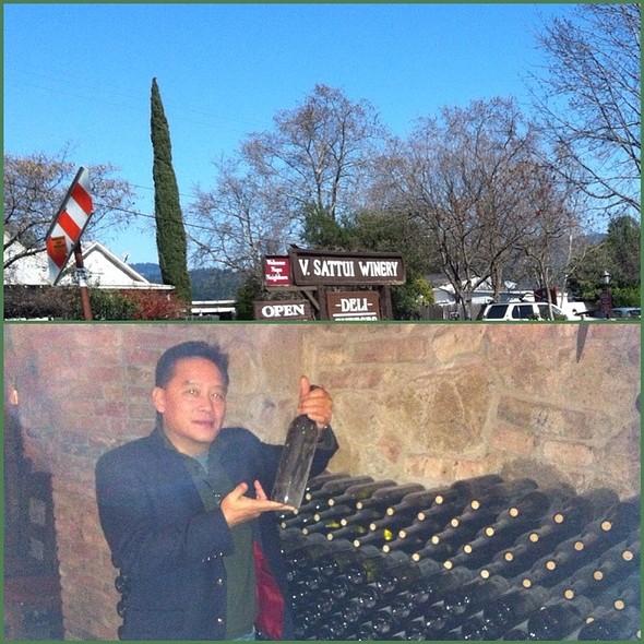 Sattui Winery - St. Helena Napa  @ Sattui Winery