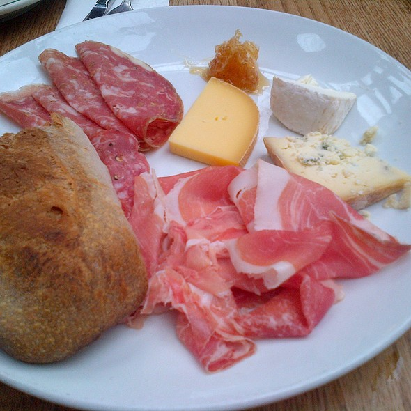Meat And Cheese Plate @ Roberta's