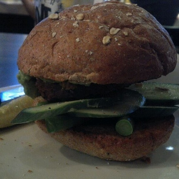 Eat Your Veggies Burger With Feta Cheese @ Slater's 50/50 Burgers By Design