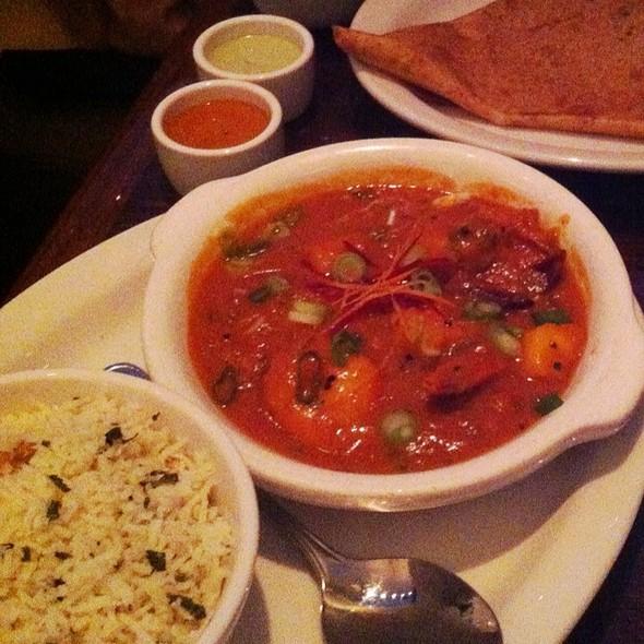Shrimp Curry @ Dosa on Fillmore