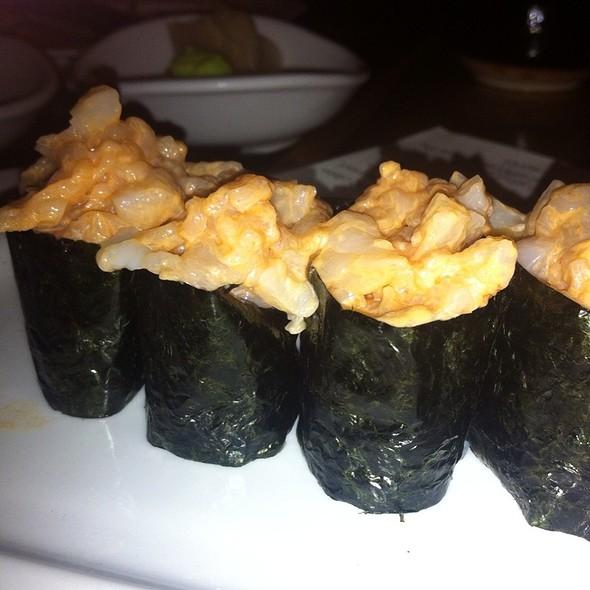 Spicy Scallops @ Bamboo Sushi