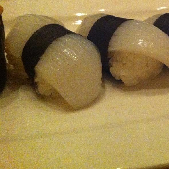 Ika Nigiri @ Bamboo Sushi