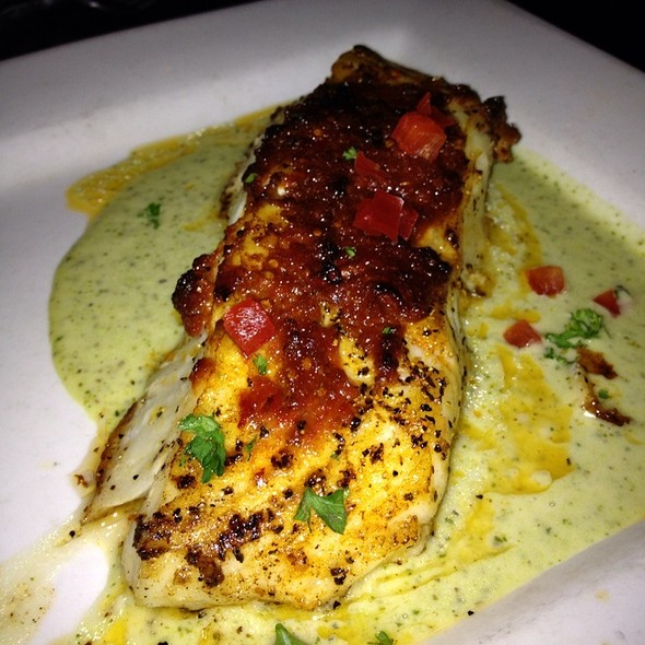 Chilean Sea Bass - Kenny's Wood Fired Grill, Dallas, TX