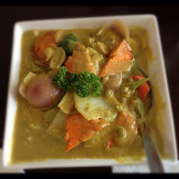 Vegetable curry @ Sunburst Fried Chicken,Cdo