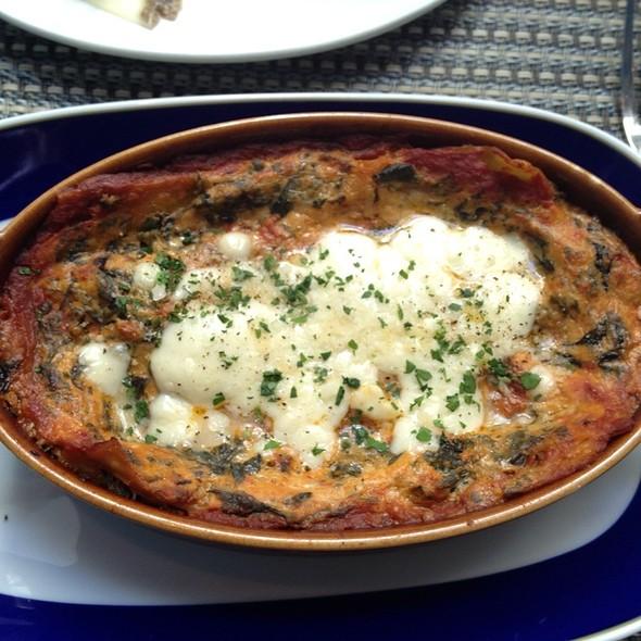 Vegetable Lasagna @ Trattoria Pizzeria Cugini