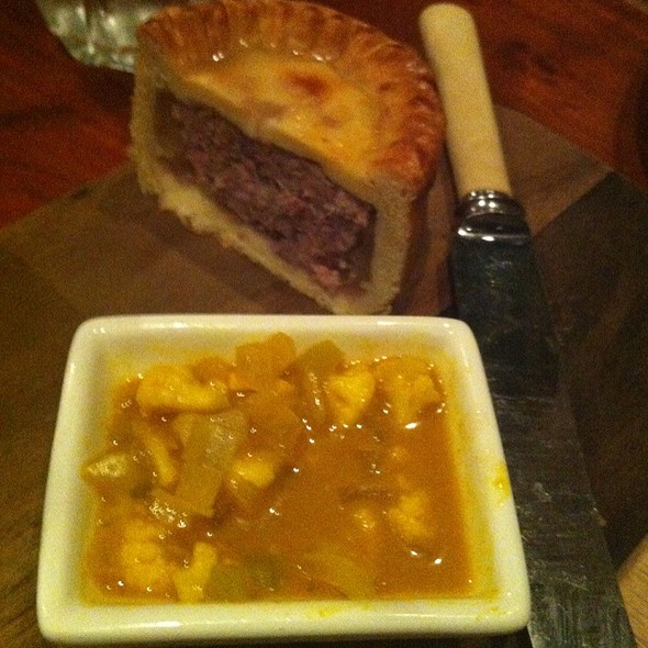 Wild Black Boar Pork Pie