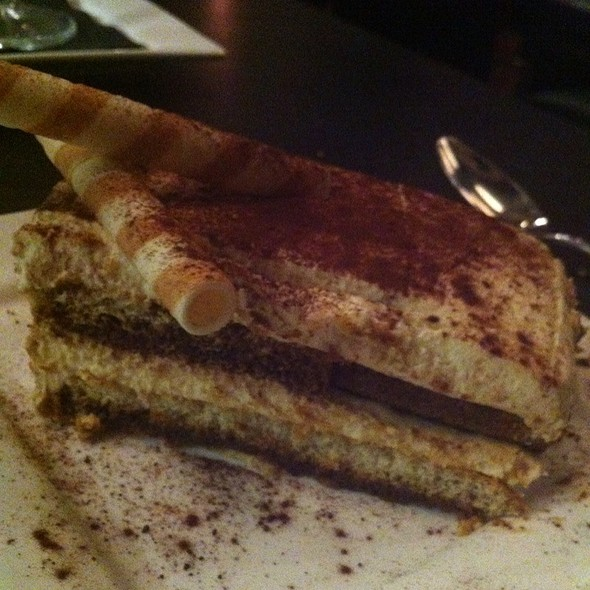 Tiramisu @ Milan Restaurant