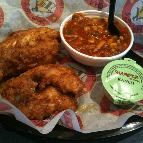 Lemon Pepper Fingers & Brunswick Stew @ Shane's Rib Shack