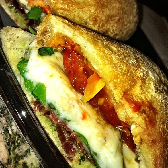 proscuitto and mozzarella sandwich @ Wynn Las Vegas