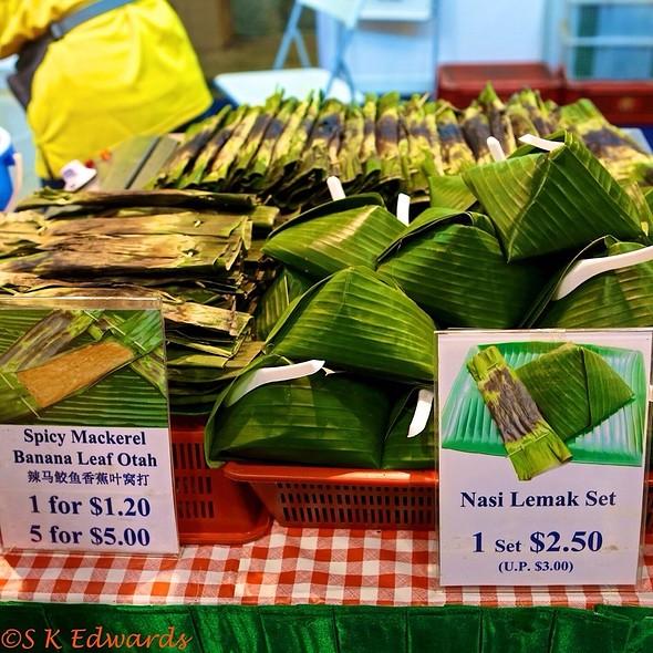 Nasi Lemak And Otah @ Singapore Food & Beverage Fair 2012 @Suntec