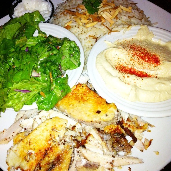 Chicken Shawarma Lunch Special