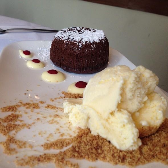 Molten Chocolate Cake - Petaluma, New York, NY