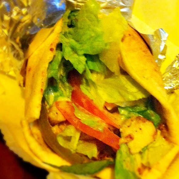 Chicken Shawarma Sandwich @ Bucharest Grill