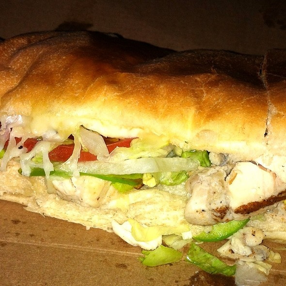 Chicken Grinder @ Mancino's Pizza & Grinders