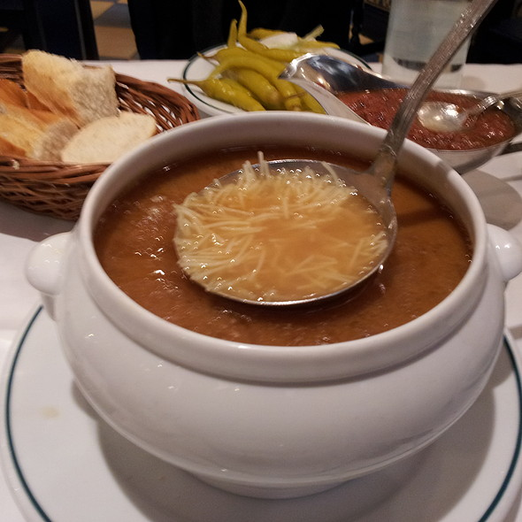 Cocido madrileño 1st part - Soup @ Don Cocido