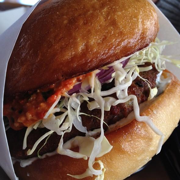 Veggie Burger @ SteakOut
