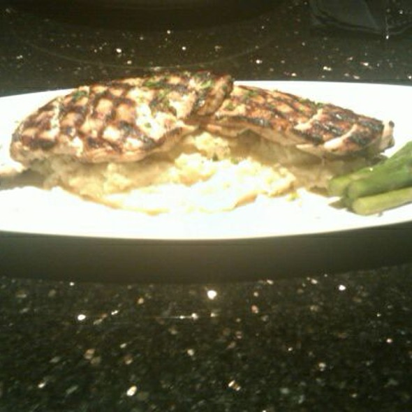 wood grilled chicken @ Brookwood Grill