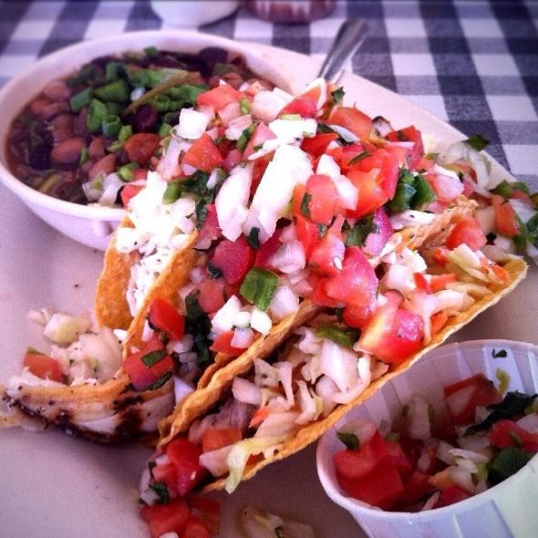 Crispy Fish Tacos @ Flying Fish