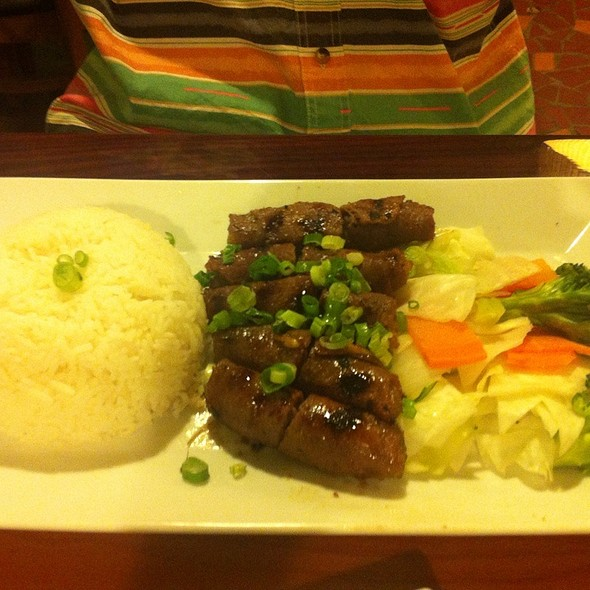 BBQ Beef Rice Plate @ Pho Viet