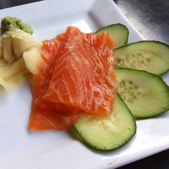 Salmon Sashimi - Lucky Belly, Nashville, TN