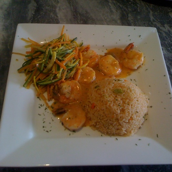 Spicy Shrimp Scampi @ Chestnut Cafe & Eatery