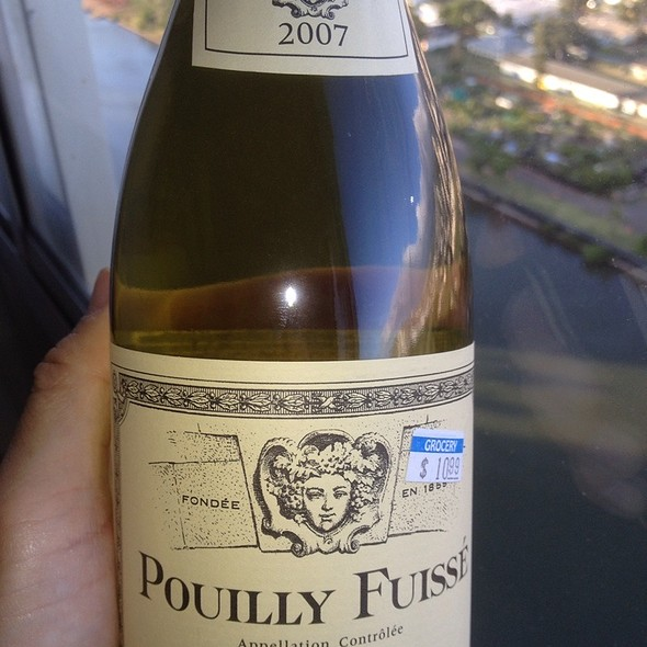 Louis Jafot Pouilly Fusse 2007 @ Sundry Store Down The Street