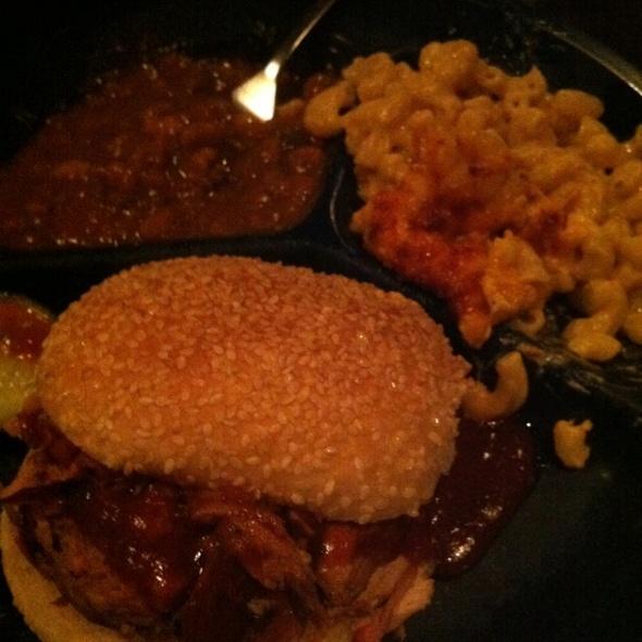 Pulled Pork Sandwich @ Dinosaur Barbeque