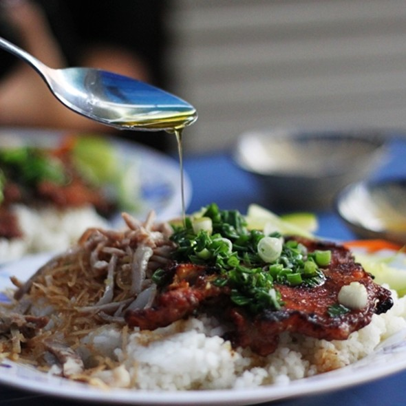 Cơm Tấm ( Broken rice) @ Sai Gon street food