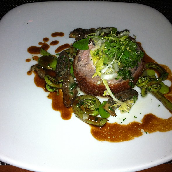 Crispy Roulade of Quail w/ Pheasant Scottish Egg @ Takashi Restaurant