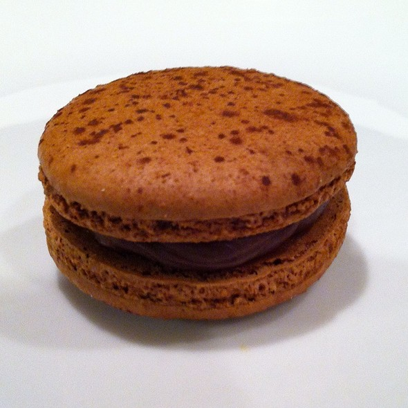 Intense Chocolate French Macaron @ Napoleon's Macarons-Topanga Plaza Shopping Center