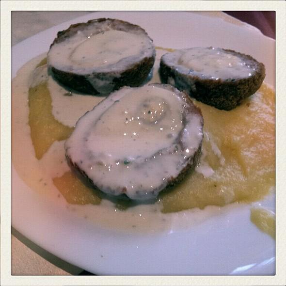 Scottish Eggs With Mashed Potatoes @ Am Gul